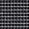 Peel And Stick Trim Resin 4mm Square Black 53x23cm Sheet